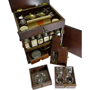English George III Mahogany Apothecary Cabinet c.1800