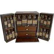 Wonderful George III English Apothecary Box c.1820