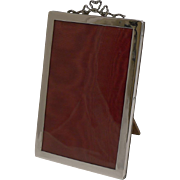 Pretty Antique English Sterling Silver Photograph Frame - 1913