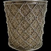 Finest Quality Gold Plated Elkington Wine Cooler - 1883