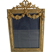 Exquisite French Gilded Photograph Frame c.1880