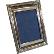 Smart Vintage English Sterling Silver Photograph Frame - 1926