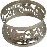 Georgian Irish Silver Plated Potatoe or Dish Ring c.1785