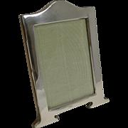 Stylish English Art Nouveau Sterling Silver Photograph Frame - 1920