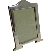Stylish English Art Nouveau Sterling Silver Photograph Frame - 1920