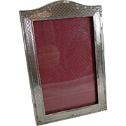 English Sterling Silver Photograph Frame - 1926
