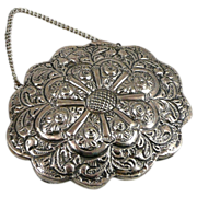 Turkish 900 Silver Embossed Wedding Mirror
