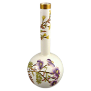 Antique Royal Worcester Bud Vase c. 1884