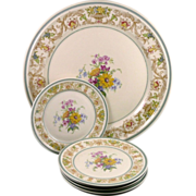 Vintage Rosenthal Winifred Dessert Set - Selb Germany