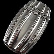 Sterling Silver Vesta Case, Vintage Match Safe