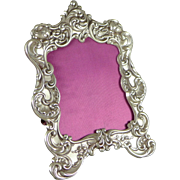 Vintage Repousse Sterling Silver Picture Frame By Gorham No. 321