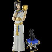 Vintage Lenox Legendary Princesses - Cleopatra c. 1990