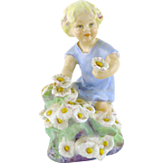 Vintage Royal Worcester May Figurine by Freda Doughty Months of the Year 3455 c. 1950