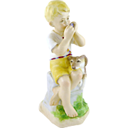 Vintage Royal Worcester June Figurine by Freda Doughty, Months of the Year  3456 c. 1952