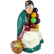 Vintage Royal Doulton Figurine The Old Balloon Seller HN1315