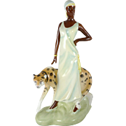 Rare Vintage Royal Doulton Charlotte Figurine HN3810 - Charleston Series