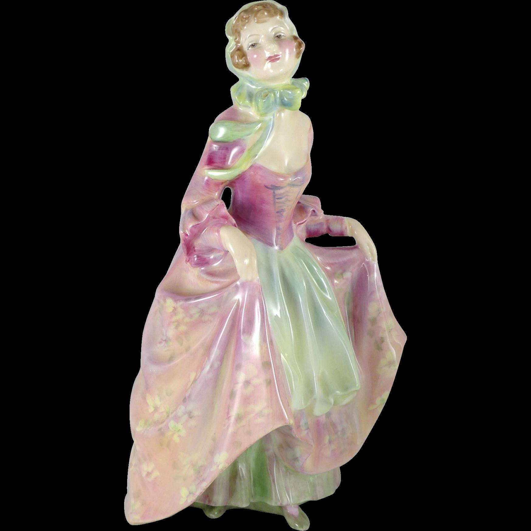 Vintage Royal Doulton Figurine Suzette HN2026