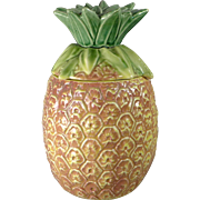 Vintage McCoy Pineapple Cookie Jar c. 1950's