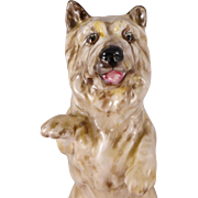 Royal Doulton Dog Figurine, Vintage Porcelain Cairn Terrier  HN2589