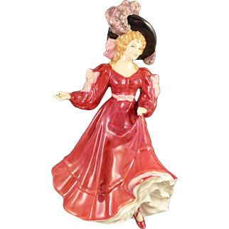 Royal Doulton Patricia Figurine, Vintage Bone China Figure HN3365