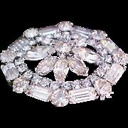 REDUCED~ D & E JULIANA Diamante Brooch