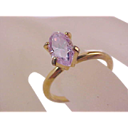 REDUCED ~ Lavish Lab Created ALEXANDRITE  Faceted Marquis Cut Birthstone/Fashion Ring ~ Size 6 3/4