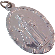 FREE Shipping in USA~Wonderful Silver Plate Religious Medal ~ SAINT JUDE