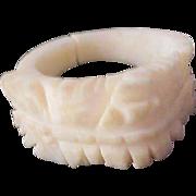 Lavish Bone Carved Decorative Workmanship