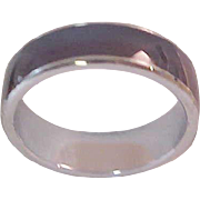 Nostalgic MOOD  RING ~ Silver Plated~ Circa 1960's ~ Size 8
