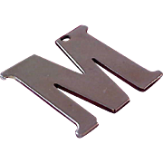 """Fun Initial """"M"""" Key Chain ': To Be  Atttached to Many Things"""