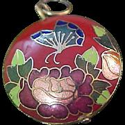 Lavish CLOISONNE Intricate Pendant/Medallion