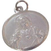 Our Lady of Mount Carmel ****SACRED HEART of JESUS Catholic Medal