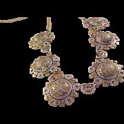 Spanish Damascene Necklace