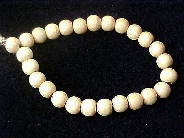Light Oak Wooden Beads ~ Expandable