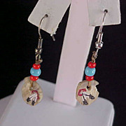 Free Shipping - Bead & ARTIST PALATTE Dangle Earrings