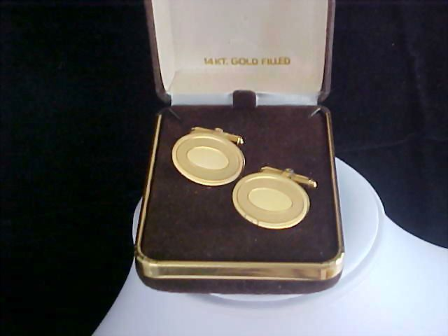 Father's Day - 1/20th 12K GF Men's Engravable Cuff Links