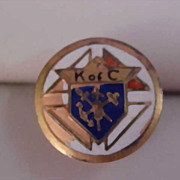 Knights of Columbus Men's Tie/Tac ~ Lapel Pin