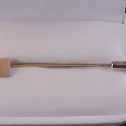 Gold Plate ENGRAVABLE 1950's Stick  Pin