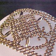 Gold Aurum Open Craftsmanship Belt Buckle