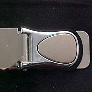 Men's MONEY CLIP Circa 1950 Crafted in Silver Plate