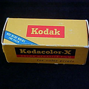 Old 1968 KODAK-KODACOLOR Film - Unopened Box ~ Highly Collectible