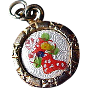 GUILLOCHE~Christmas Stocking ~ Candy Cane~Ornaments PENDANT