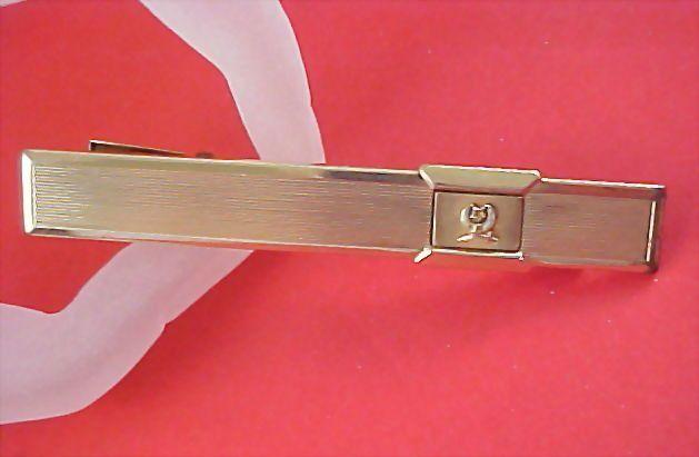 Shriner~Mason's KREISLER 1/20 12k GOLD F. Tie Clasp