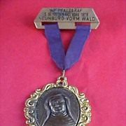 Theresa Avon - German Award  Medal Crafted in Bronze