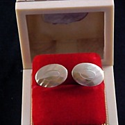 Father's Day - ANSON 12KT Gold Fill 1950's Men's Cuff Links