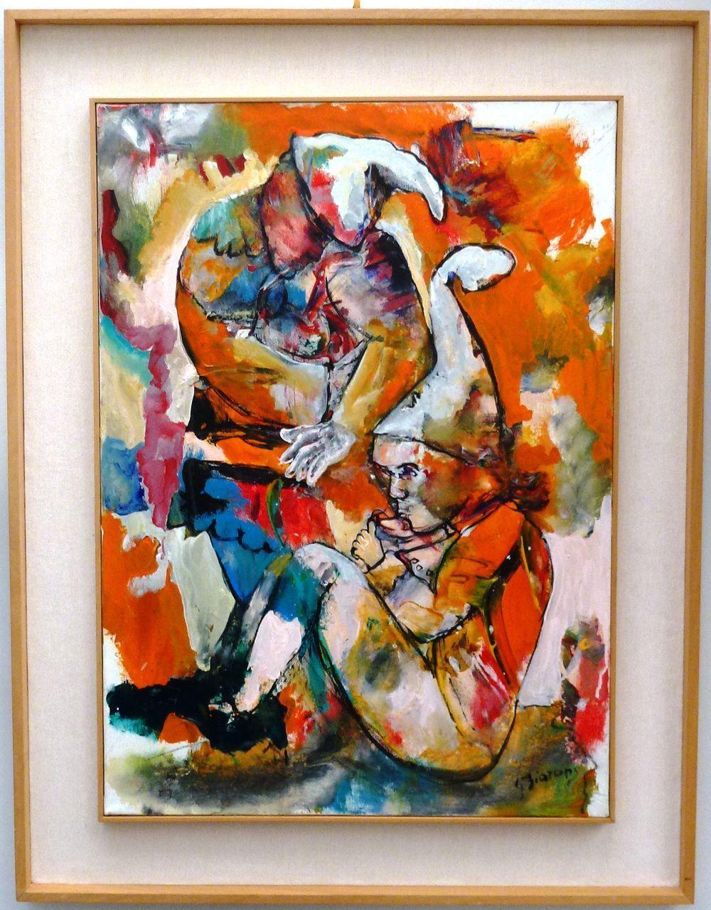 Giuseppe Fioroni (born 1938) * Homage to Fellini *