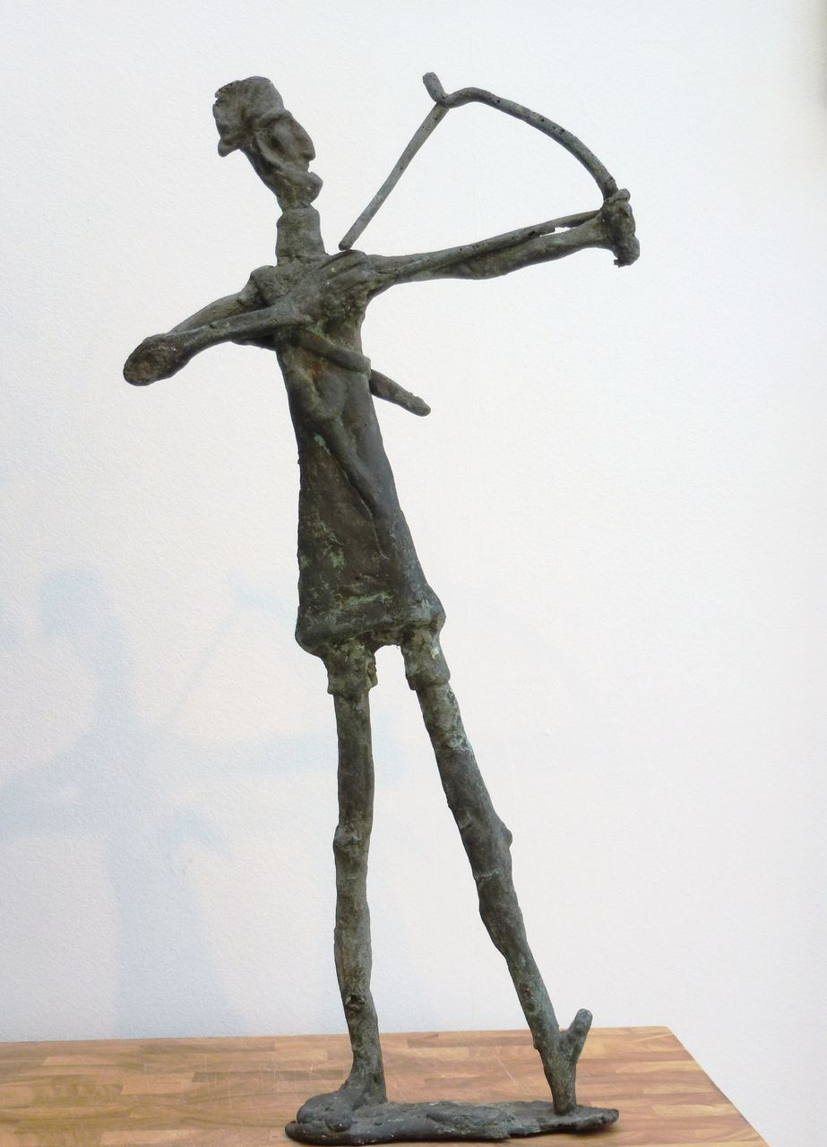 Franco d'Aspro (1911-1995) - Giacometti inspired Sculpture