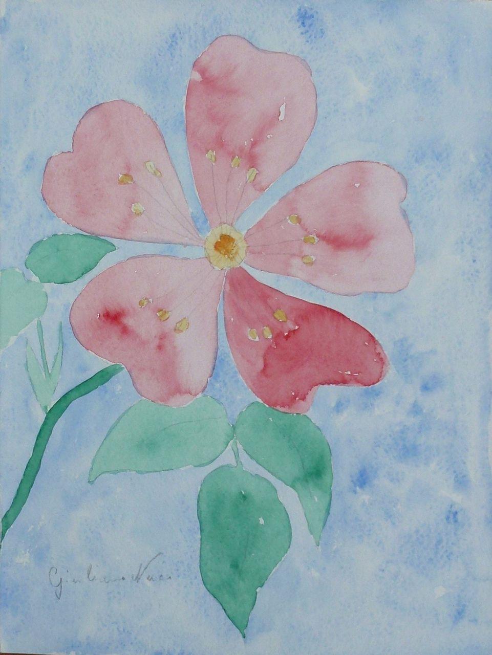 Giuliano Nucci (1930 - 1992) * Rosa Canina  (Wild Rose) *