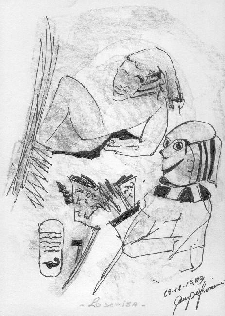 Giuseppe Fioroni (born 1938)  * Lo scriba *