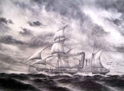 Historical Ships - ITALIA 1848